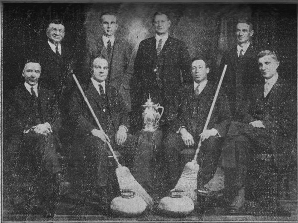 Barrie Curling Club 1907 Ontario Tankard Champions
