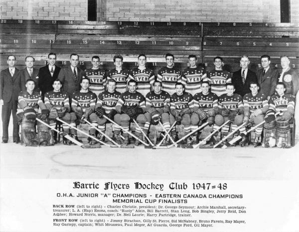 1947-48 Barrie Flyers Jr.