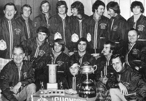 1972 Slessor & Periard Jr. Softball Team 0A.S.A. [Ontario Amateur Softball Association] Jr.