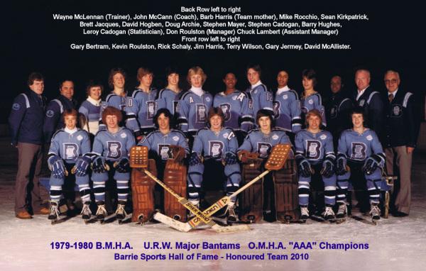 1979/80 B.M.H.A. U.R.W. Major Bantams 0.M.H.A.
