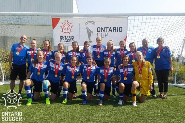 Barrie FC Strikers 2003 Girls Team