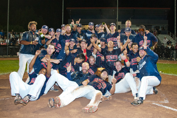 2015 Barrie Baycats Intercounty Baseball League Champions