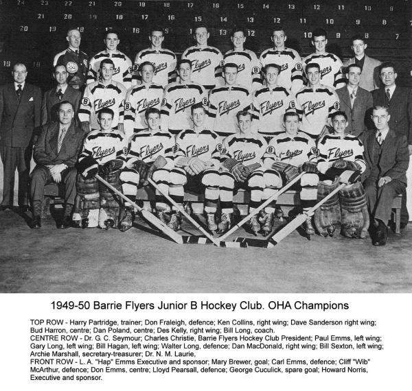 1949-50 Barrie Flyers Jr.