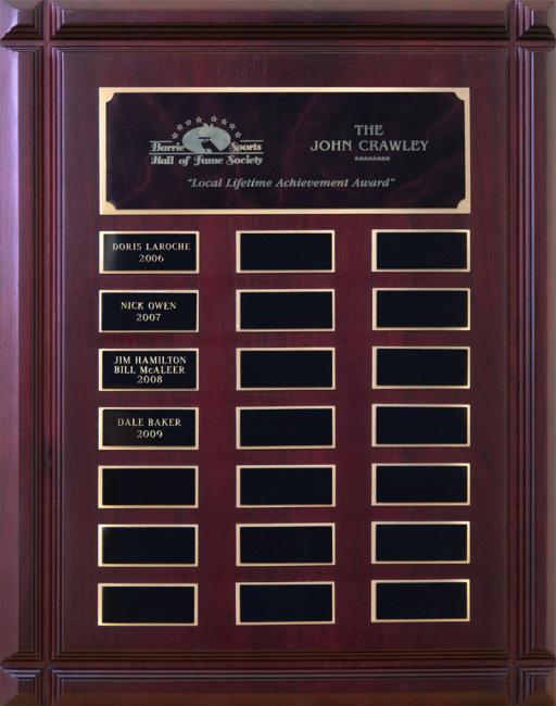 "John Crawley ""Local Lifetime Achievement Award"""