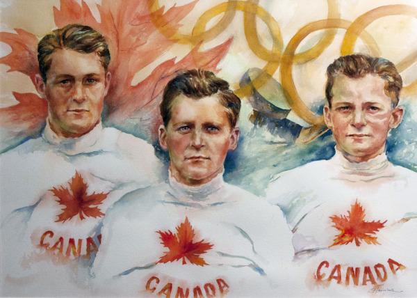 Herbert, Hugh, & Roger Plaxton